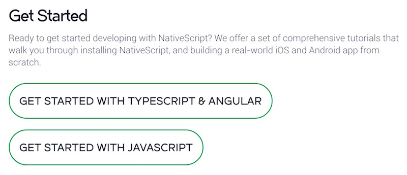 Thoughts on NativeScript 2 0