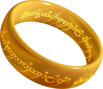 Obligatory LOTR reference ring
