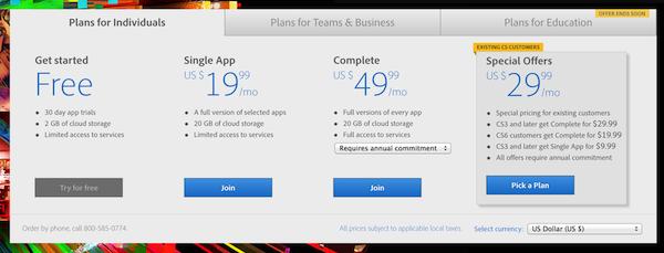 Creative Cloud is Here
