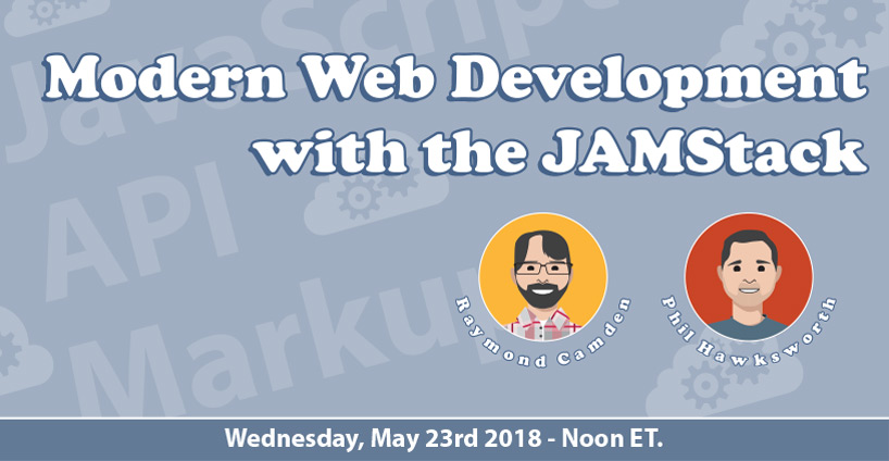 Next Event - Modern Development with the JAMStack