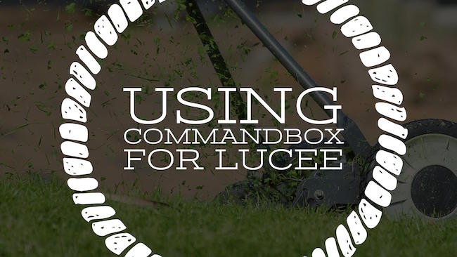 Using CommandBox for Lucee