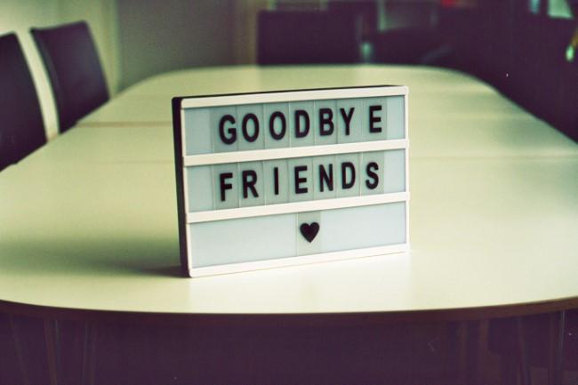 Saying Goodbye to HERE