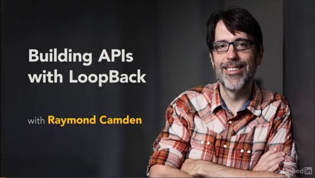 My New Lynda Course - Building APIs with LoopBack