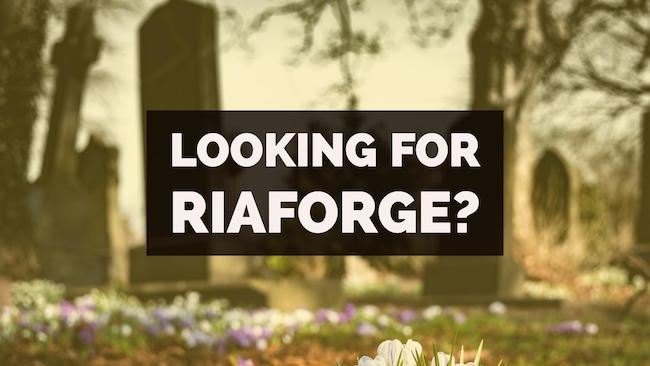 Looking for RIAForge?